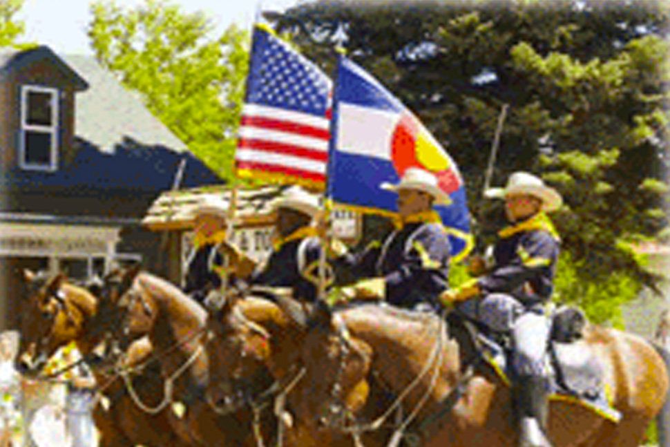 Memorial Day Parade Westcliffe CO