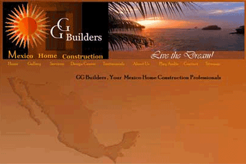 GG Builders Website